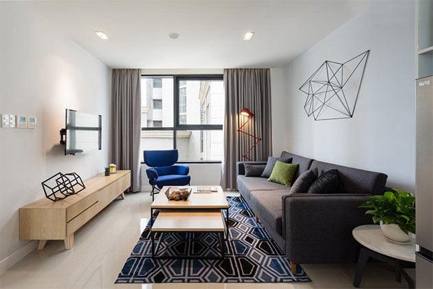 5 mẫu phòng khách hiện đại lí tưởng cho căn hộ chung cư