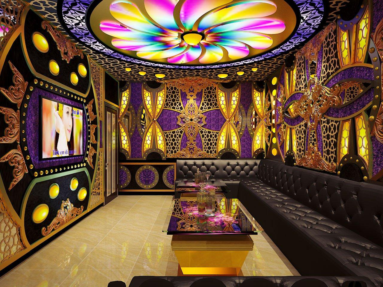 7 mẫu phòng karaoke phong cách tân cổ điển đẹp cực kỳ sang trọng