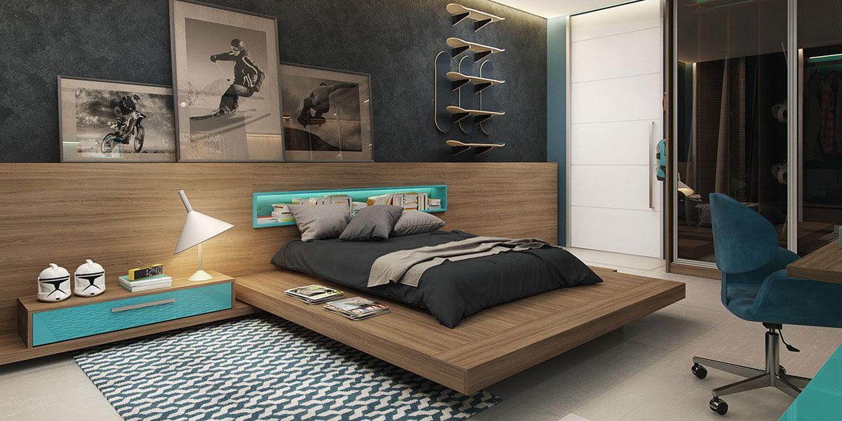 7 mẫu phòng ngủ trẻ em cuốn hút với thiết kế thông minh