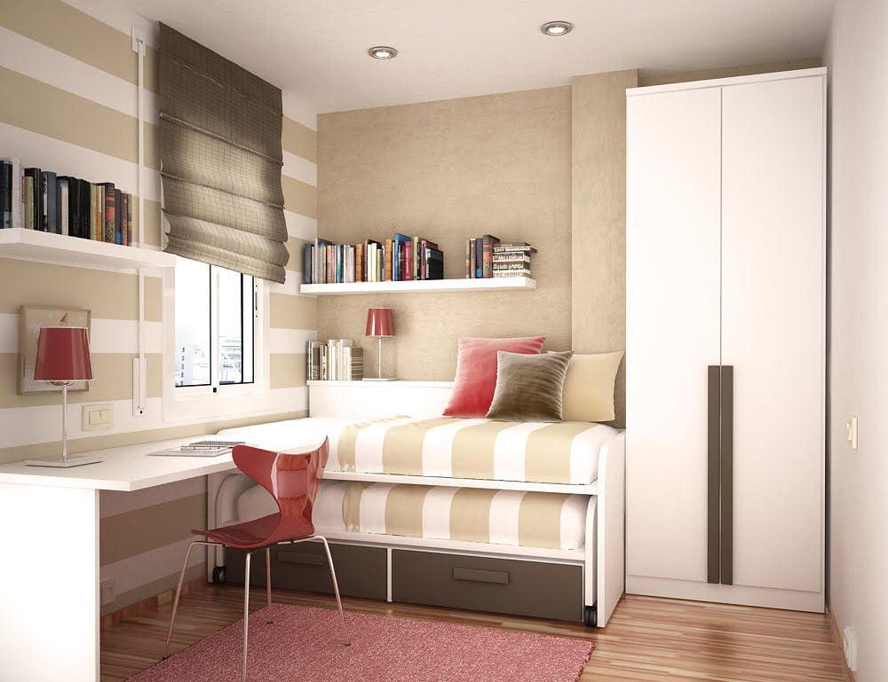 8 mẫu phòng ngủ nhỏ nhưng vô cùng tiện nghi và hiện đại