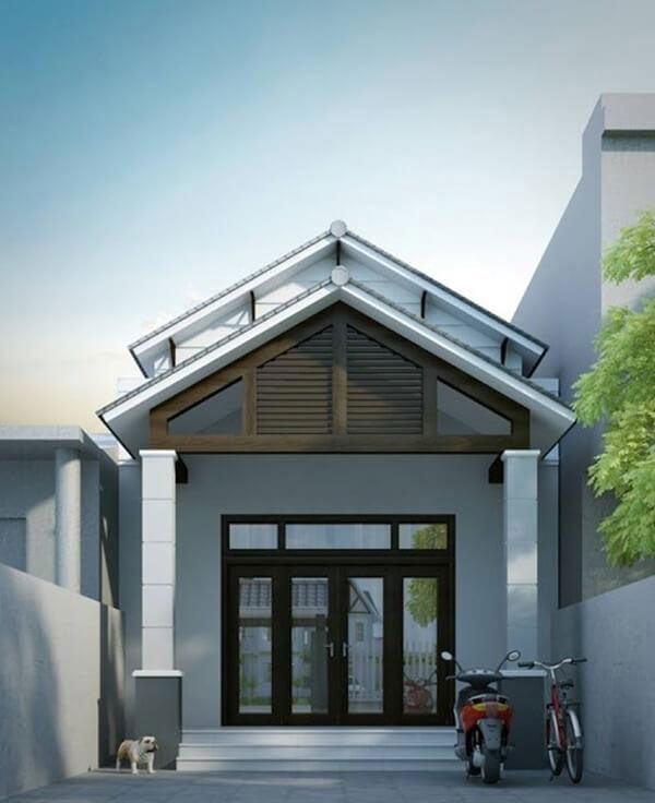 nhà 1 tầng mái thái