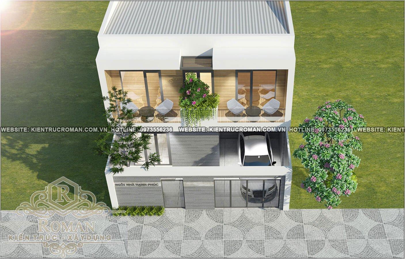 mẫu nhà 2 tầng đơn giản
