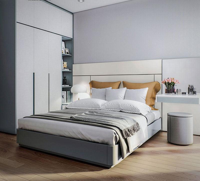 Chiêm ngưỡng mẫu thiết kế căn hộ 2 phòng ngủ đẹp ngất ngây
