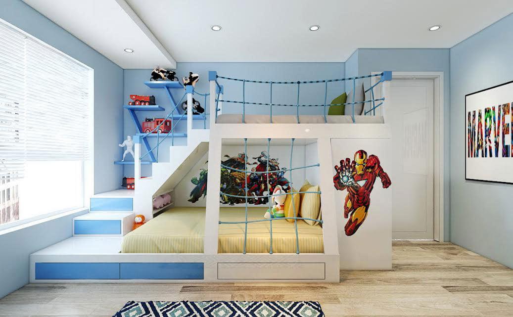 Chiêm ngưỡng những mẫu phòng ngủ trẻ em vạn người mê