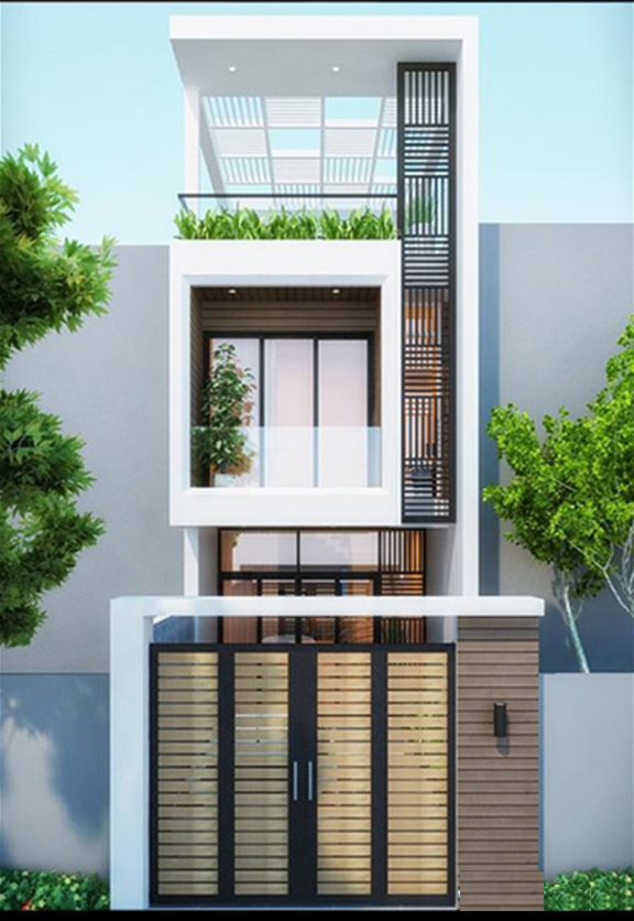 Gợi ý những mẫu nhà đẹp 2 tầng 1 tum đơn giản mà siêu đẹp