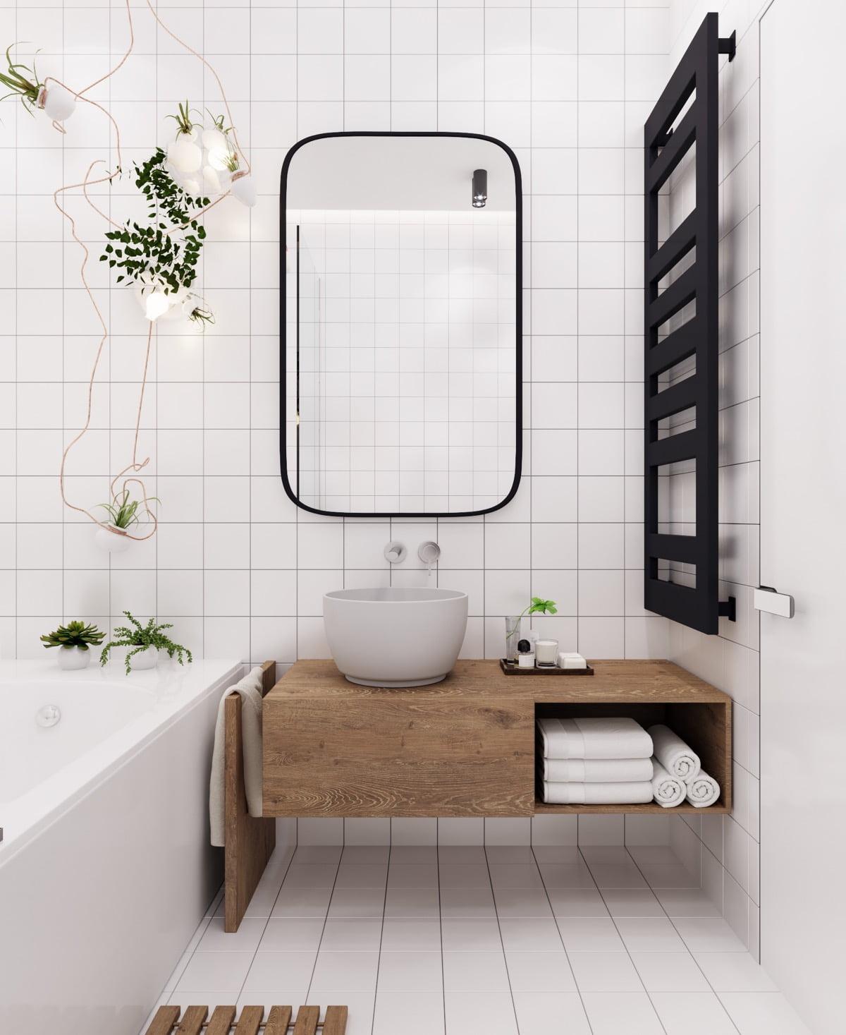 mẫu phòng tắm nhỏ đẹp, đơn giản