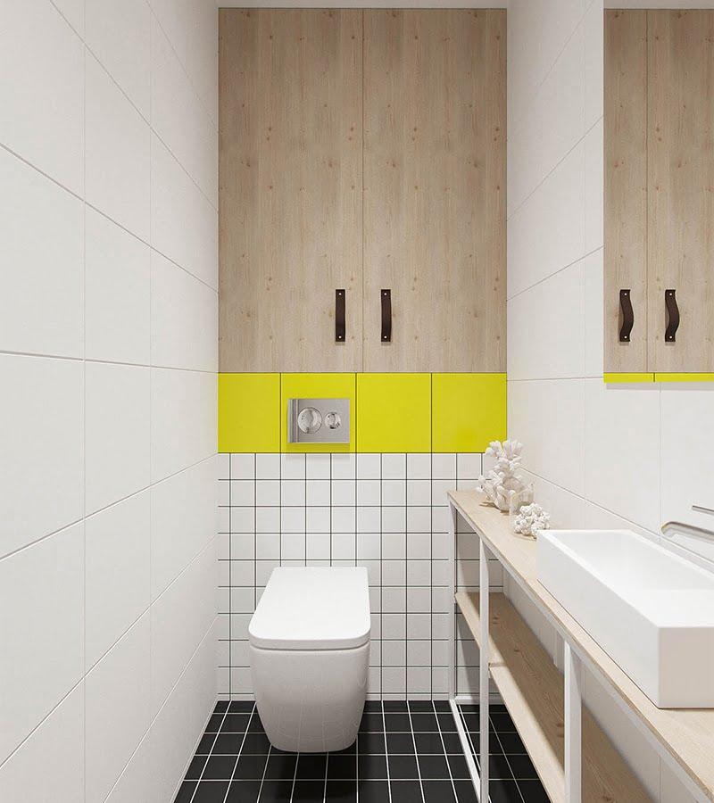 phòng tắm nhỏ đẹp cho căn hộ chung cư