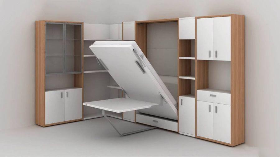 Tủ quần áo nội thất thông minh cho nhà nhỏ