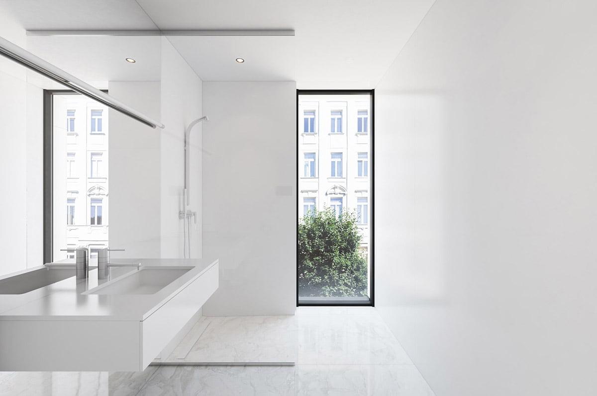 phòng tắm nhỏ đẹp dành cho nhà phố