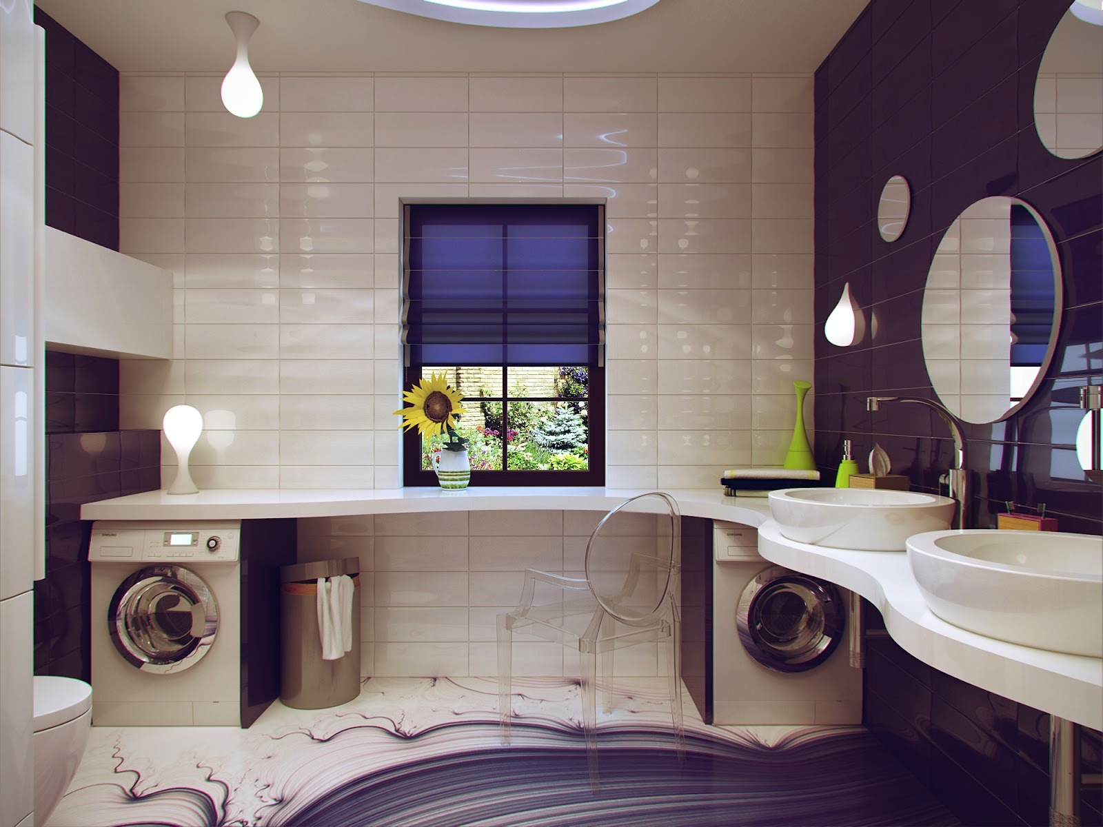 mẫu phòng tắm nhỏ đẹp, độc đáo