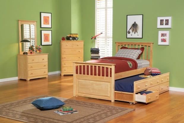 nội thất thông minh cho nhà nhỏ trong phòng ngủ trẻ em