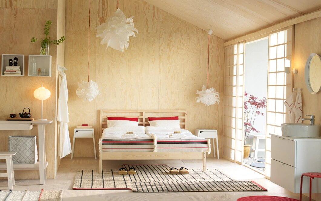 cách trang trí nhà cấp 4 đơn giản trong phòng ngủ