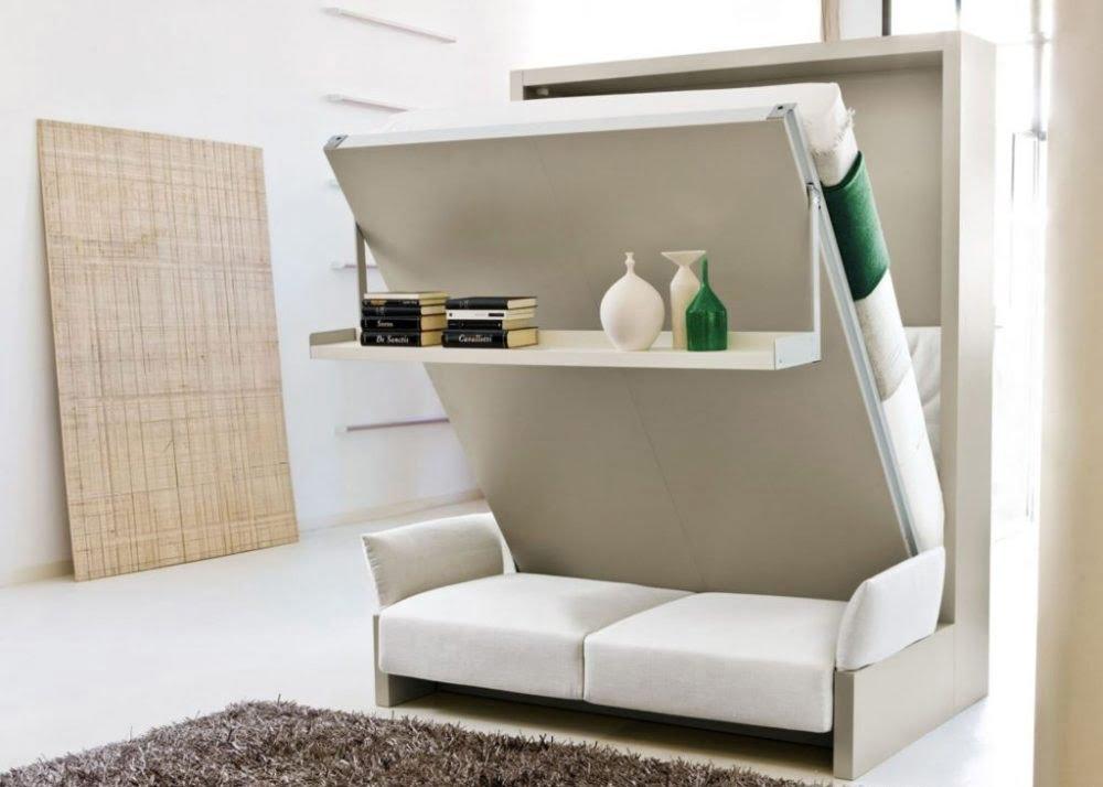 Ghế sofa giường nội thất thông minh cho nhà nhỏ
