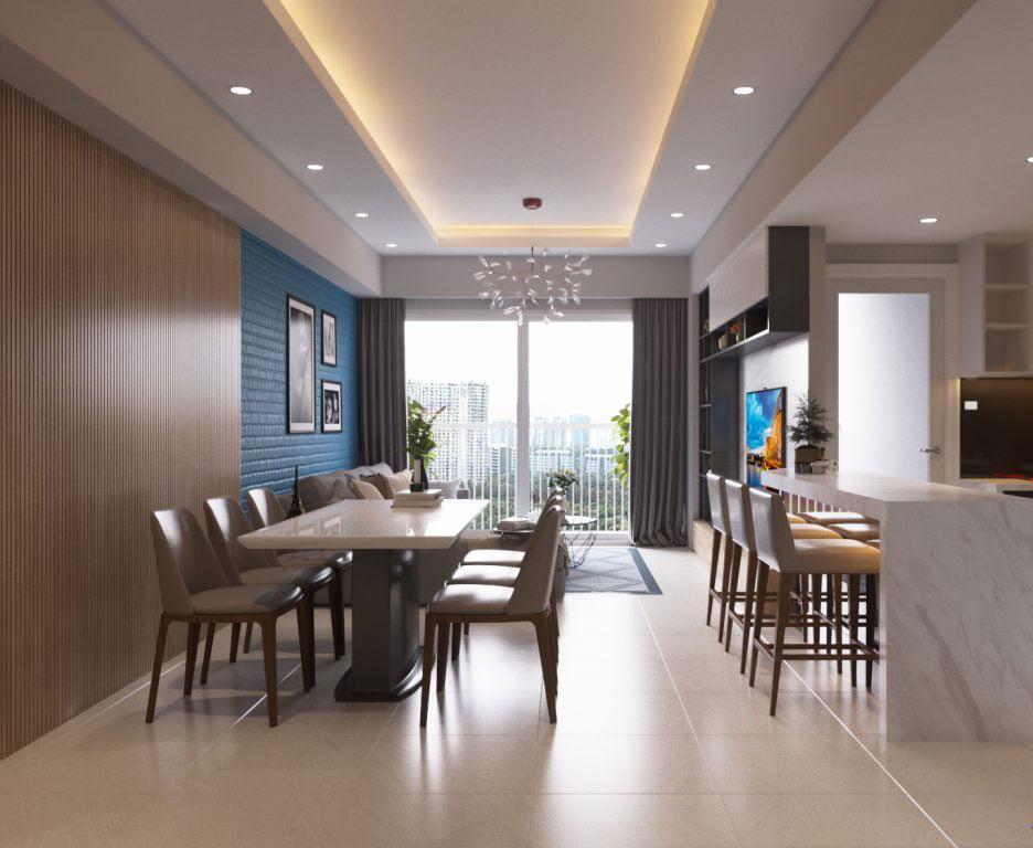 Hút hồn với mẫu căn hộ chung cư đơn giản nhưng đầy lôi cuốn