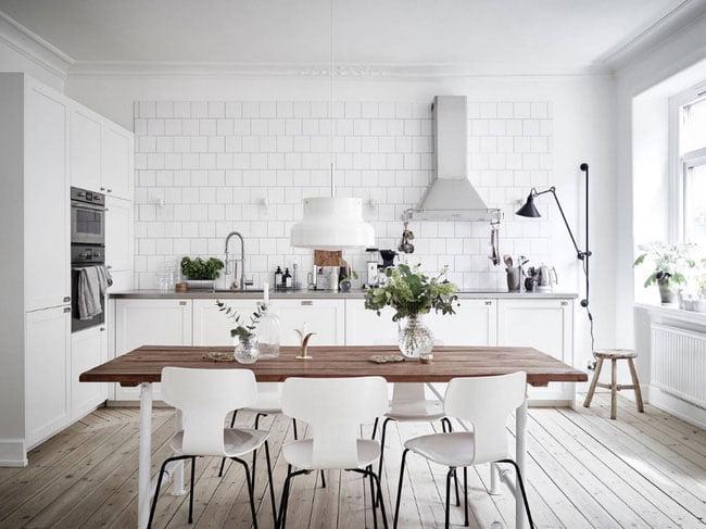 Hút mắt với 10 mẫu phòng bếp trắng tinh khôi đẹp hiện đại