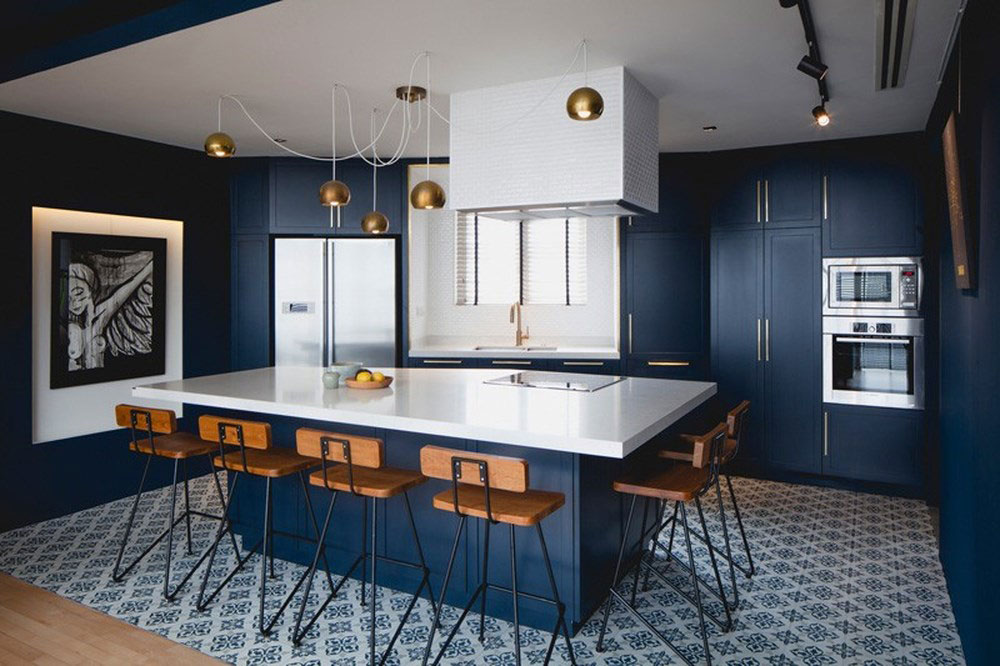 Khám phá 10 mẫu phòng bếp màu xanh đẹp mê ly nhìn là mê