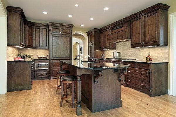 Khám phá mẫu phòng bếp tân cổ điển sang trọng tiện nghi