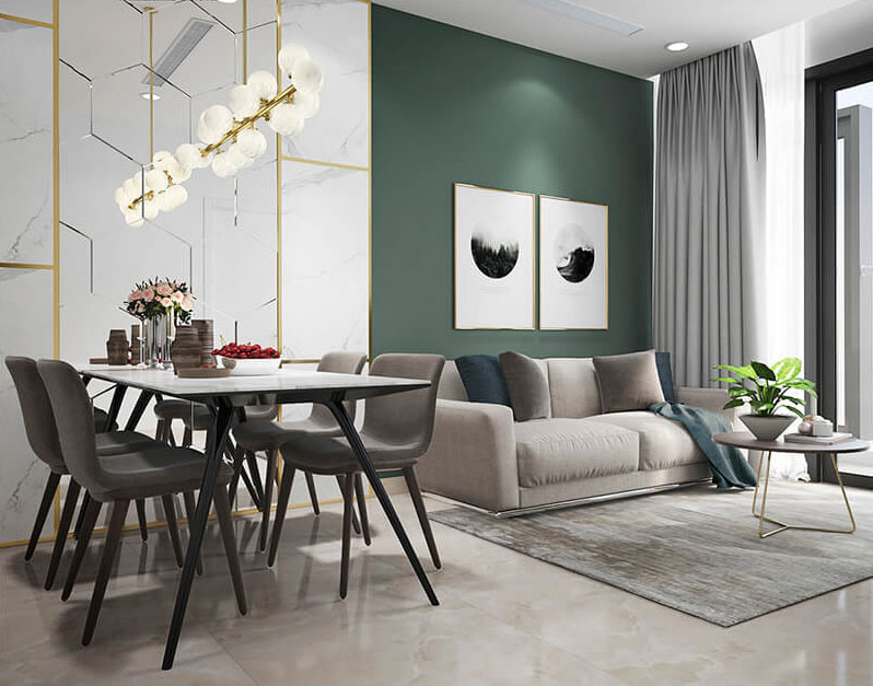 thiết kế nội thất chung cư 100m2