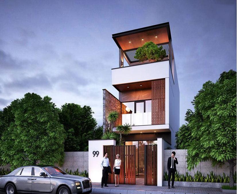 Mẫu nhà đẹp 3 tầng thiết kế ấn tượng xu hướng mới cho năm 2019 10