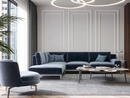 thiết kế nội thất chung cư 90m2