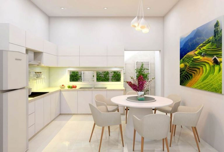 Ngắm nhìn những mẫu phòng bếp lí tưởng dành cho nhà phố
