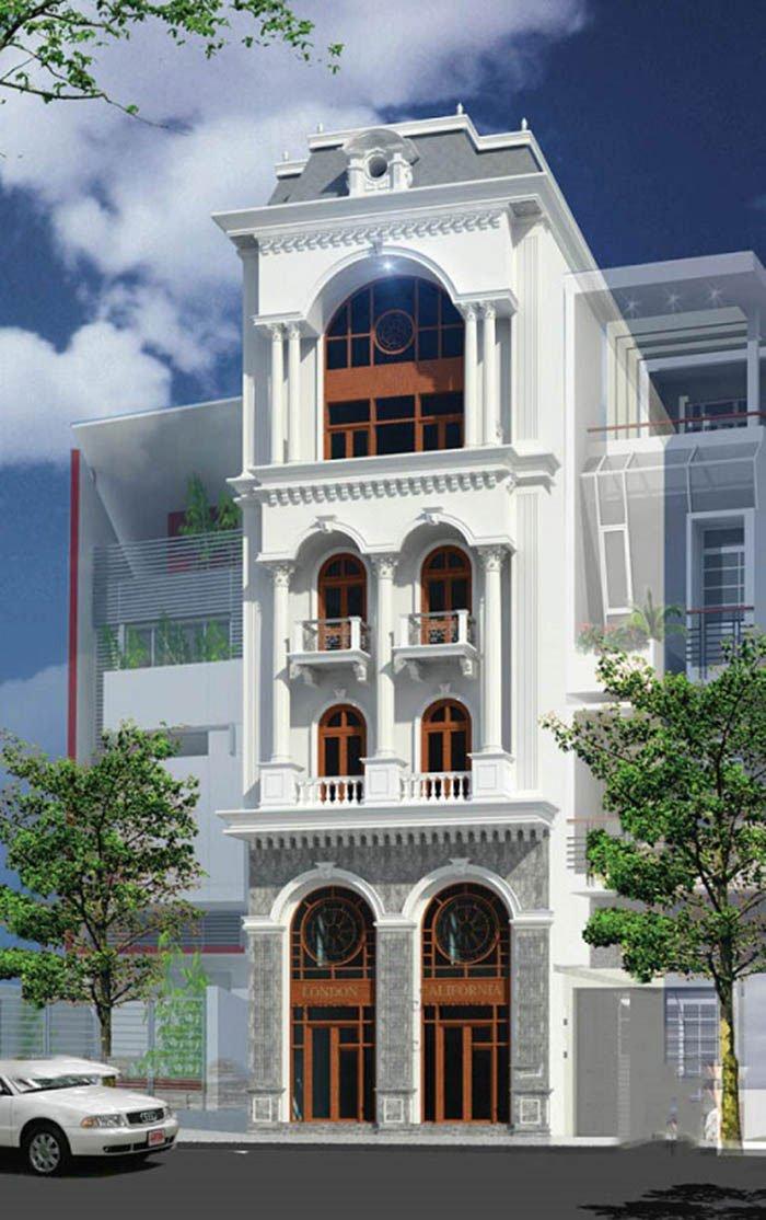 Nhà phố bán cổ điển đẹp và sang trọng cập nhập mới nhất 2019