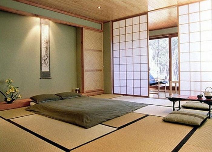 Những mẫu phòng ngủ phong cách Nhật Bản đẹp say mê