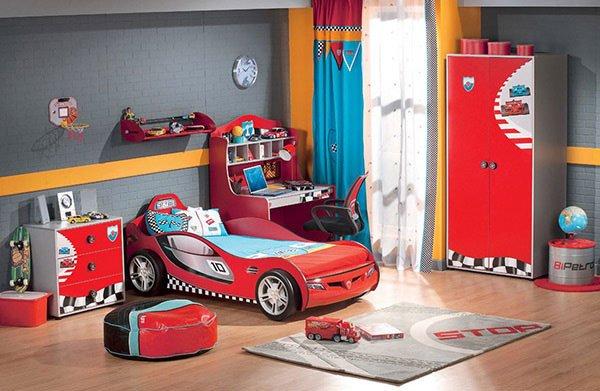 Những mẫu phòng ngủ trẻ em cá tính thích hợp cho bé trai