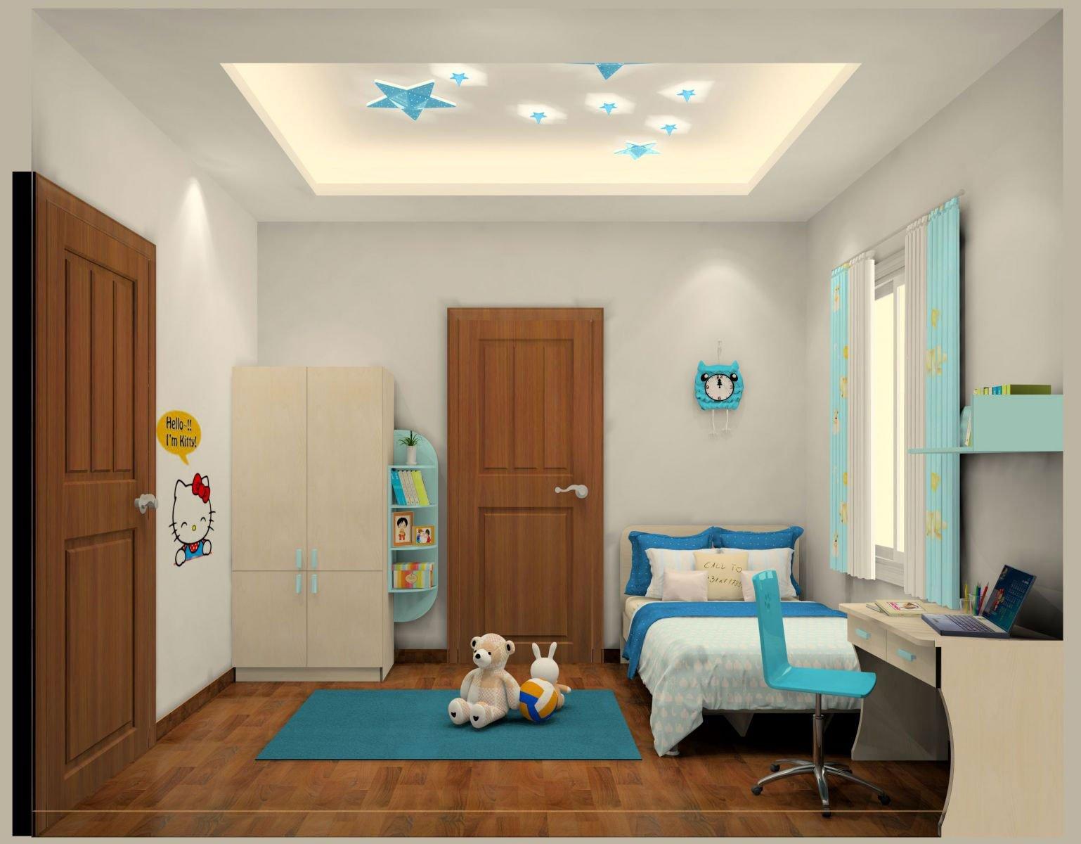 Những mẫu phòng ngủ trẻ em hiện đại khiến bạn thích mê