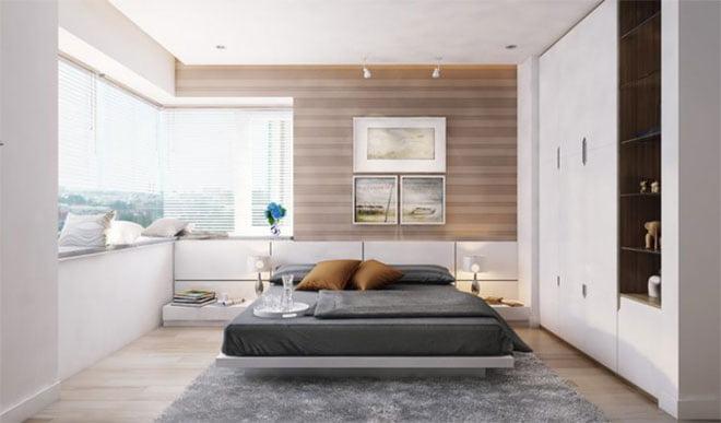 Say đắm với mẫu thiết kế căn hộ 2 phòng ngủ đẹp miễn chê