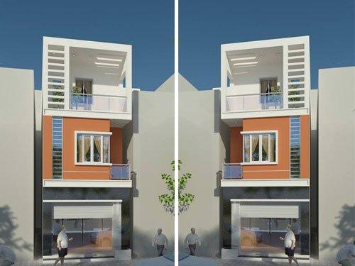 thiết kế nhà ống 3 tầng 4x15