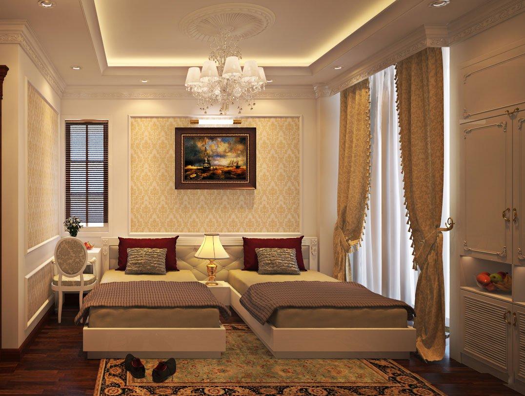khách sạn phong cách tân cổ điển