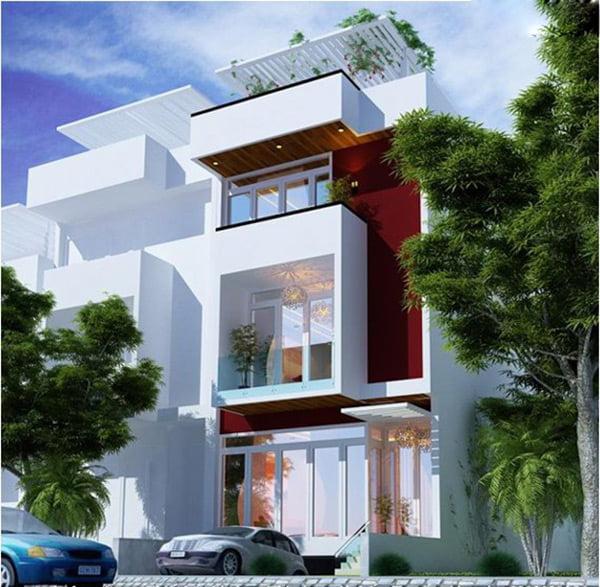Tổng hợp những mẫu nhà 3 tầng đẹp đang được ưa chuộng 2018