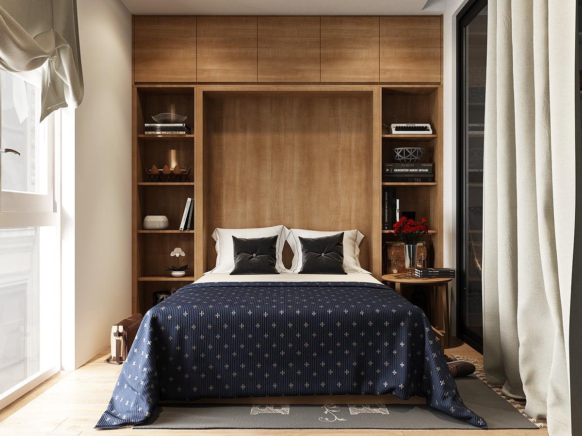 Top 5 mẫu phòng ngủ đẹp mặc dù diện tích không gian hạn chế