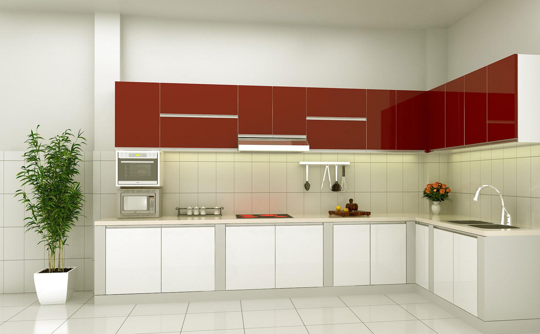 Top 8 mẫu phòng bếp đơn giản phù hợp với mọi gia đình