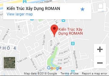 bản đồ tới kiến trúc roman