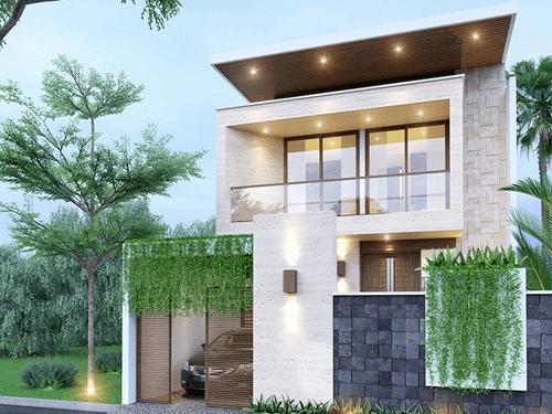 Bản thiết kế nhà 2 tầng đẹp đầy đủ công năng không thể bỏ qua