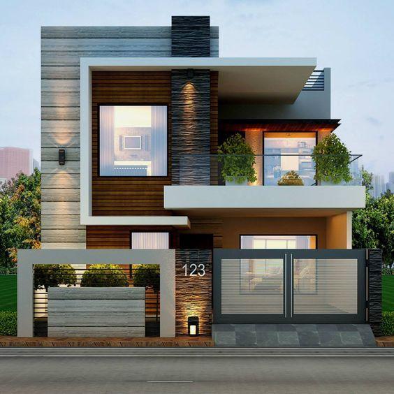 bản thiết kế nhà 2 tầng đẹp hiện đại sang trọng 1