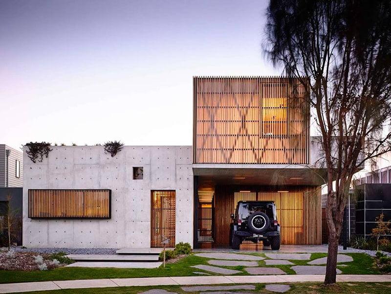 bản thiết kế nhà 2 tầng đẹp hiện đại sang trọng 9