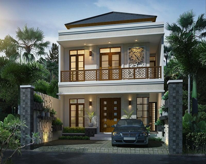 bản thiết kế nhà 2 tầng đẹp hiện đại sang trọng 17