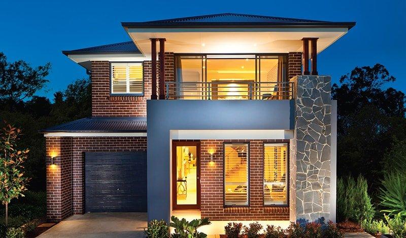 bản thiết kế nhà 2 tầng đẹp hiện đại sang trọng 18