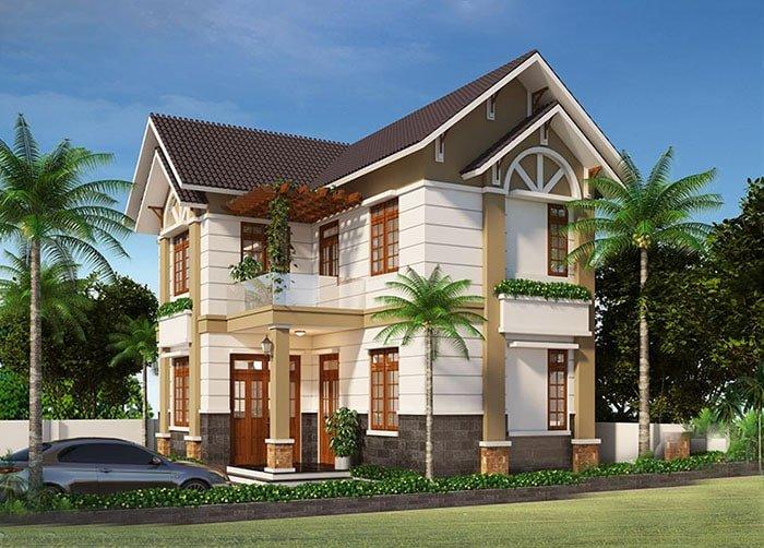 bản thiết kế nhà 2 tầng đẹp hiện đại sang trọng 19