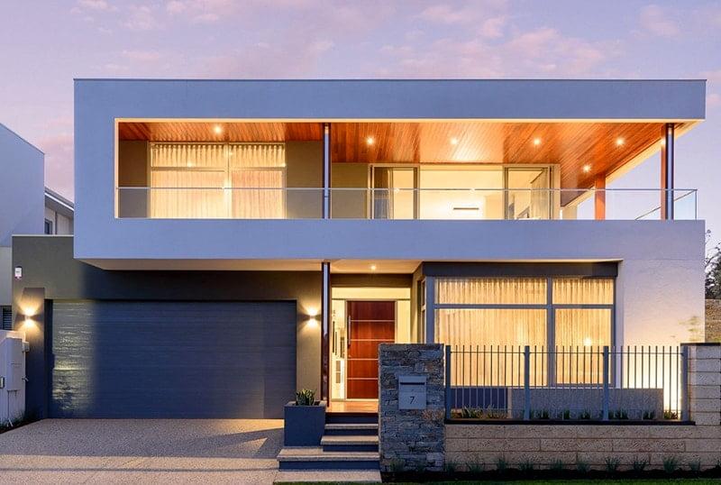 bản thiết kế nhà 2 tầng đẹp hiện đại sang trọng 6