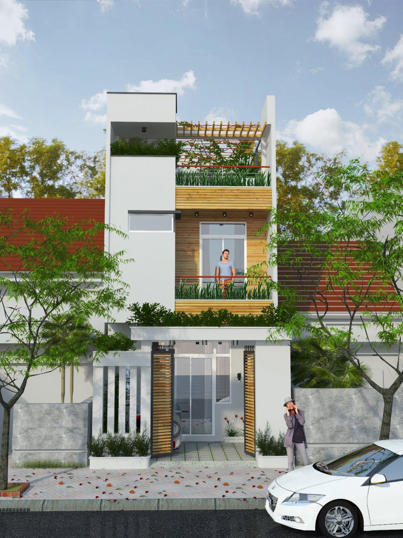 bản vẽ kết cấu nhà phố 2 tầng 3
