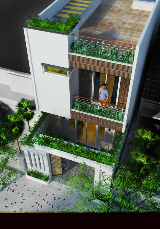 bản vẽ kết cấu nhà phố 2 tầng 4