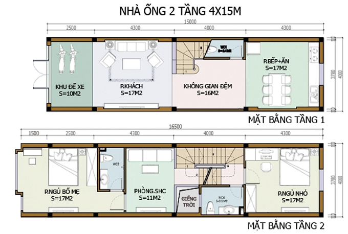 bản vẽ thiết kế nhà 2 tầng hoàn chỉnh 9
