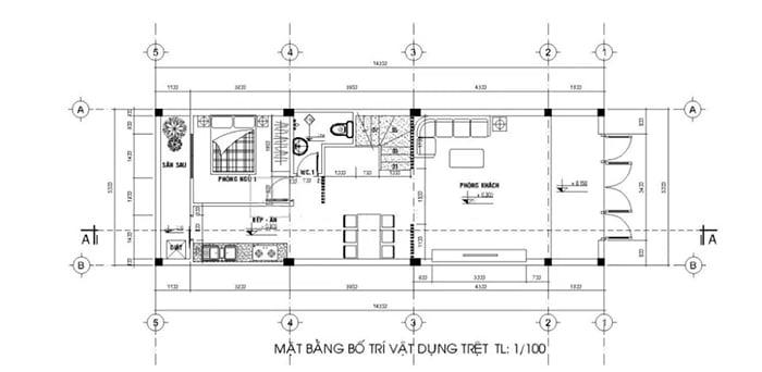 bản vẽ thiết kế nhà 2 tầng hoàn chỉnh 15