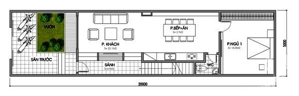 bản vẽ thiết kế nhà 2 tầng hoàn chỉnh 21