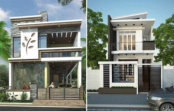 bản vẽ thiết kế nhà 2 tầng hoàn chỉnh 4