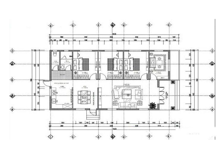 bản vẽ thiết kế nhà cấp 4 15